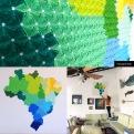 Quadro Brasil ( 2.700 módulos Brisa)