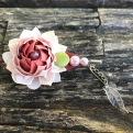 BF01 - Broche orinuno Flor de Lótus R$45,00 + frete