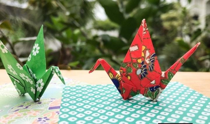 significado tsuru, dia do origami